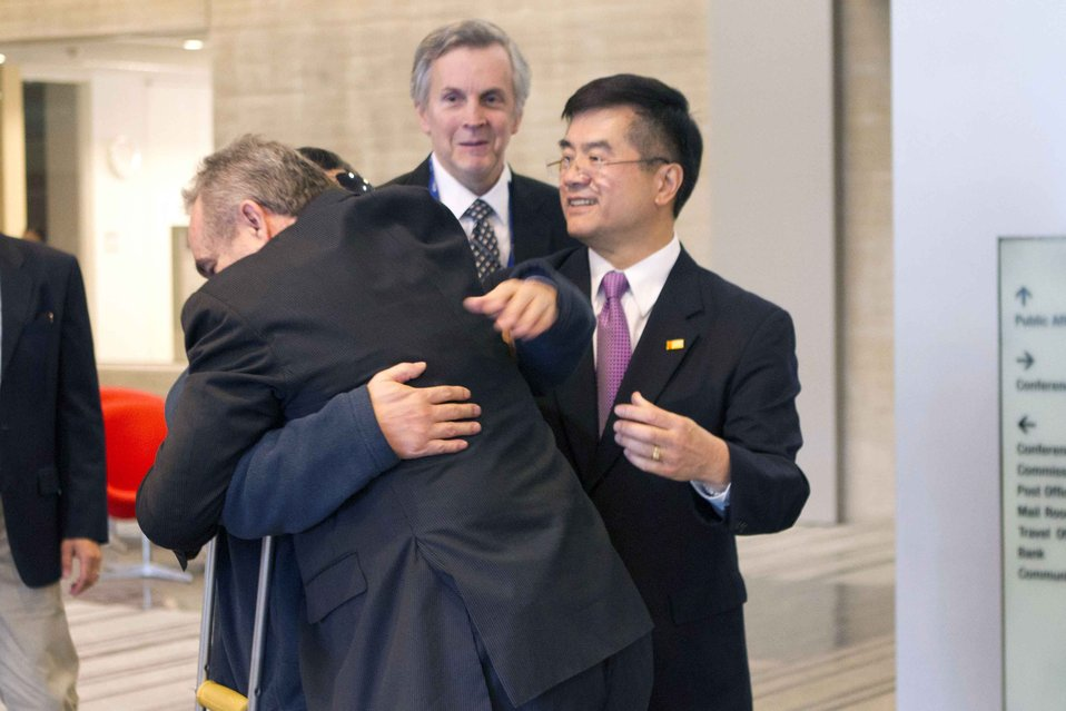 Assistant Secretary Campbell With Chen Guangcheng