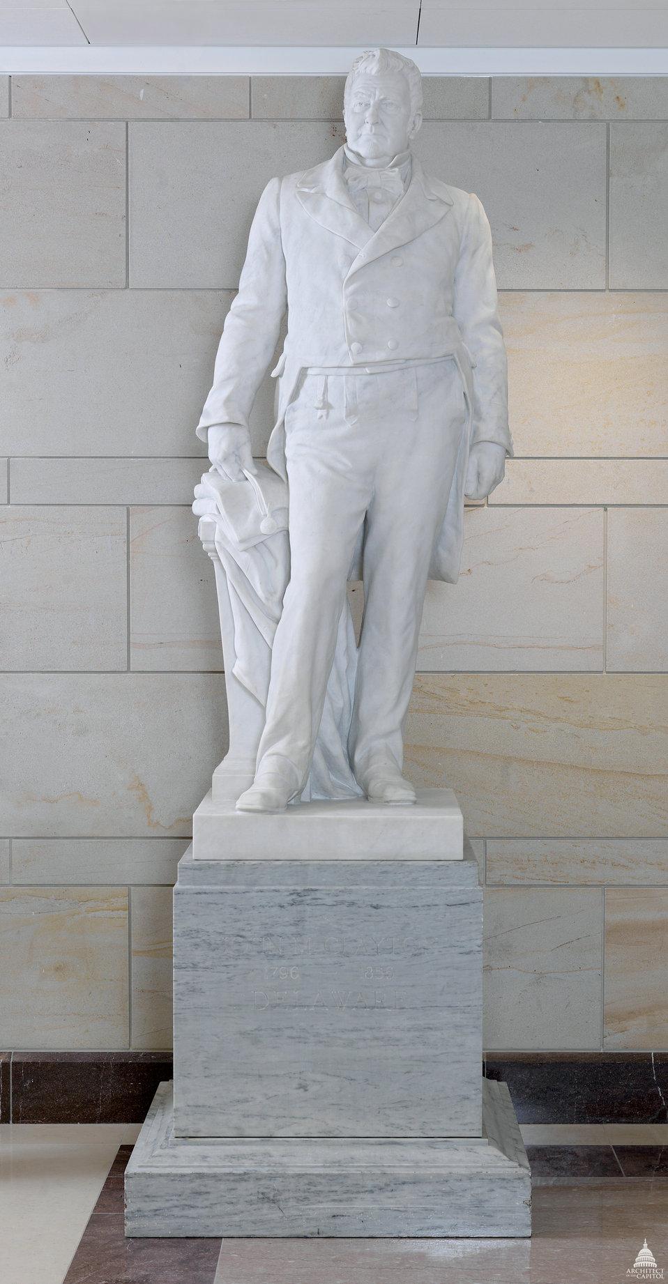 John Middleton Clayton Statue