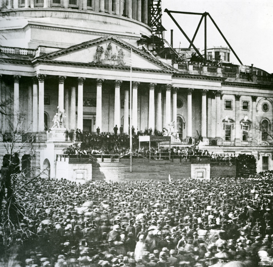 Abraham Lincoln's First Inauguration