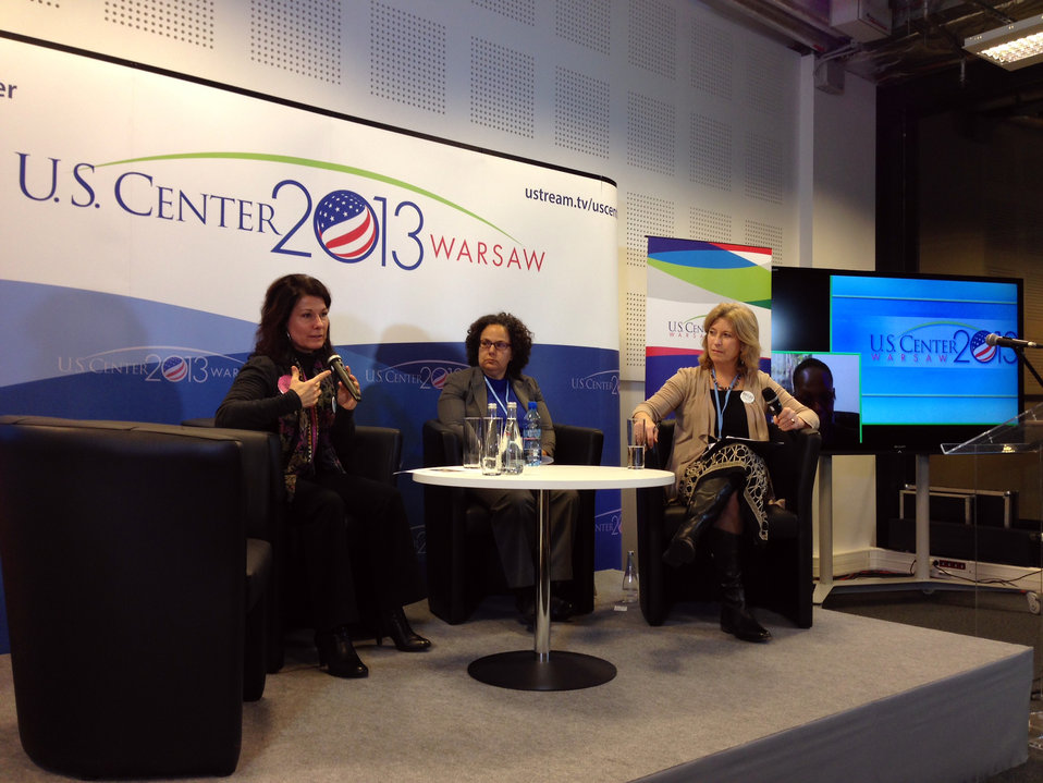 A Panel Discussion on Rewards and Challenges for Women Addressing Climate Change