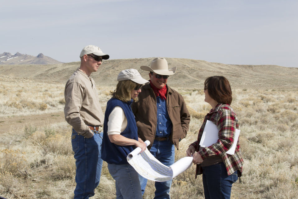 FWS Partners Program and BLM, Meeting with Landowners in Nevada