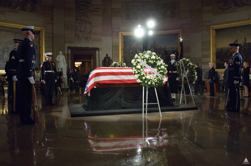 Lying in State - President Gerald Ford