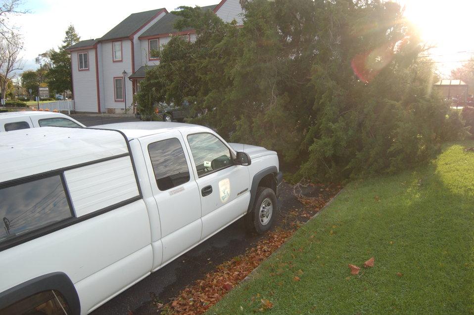 Hurricane Sandy hit the New Jersey Field Office