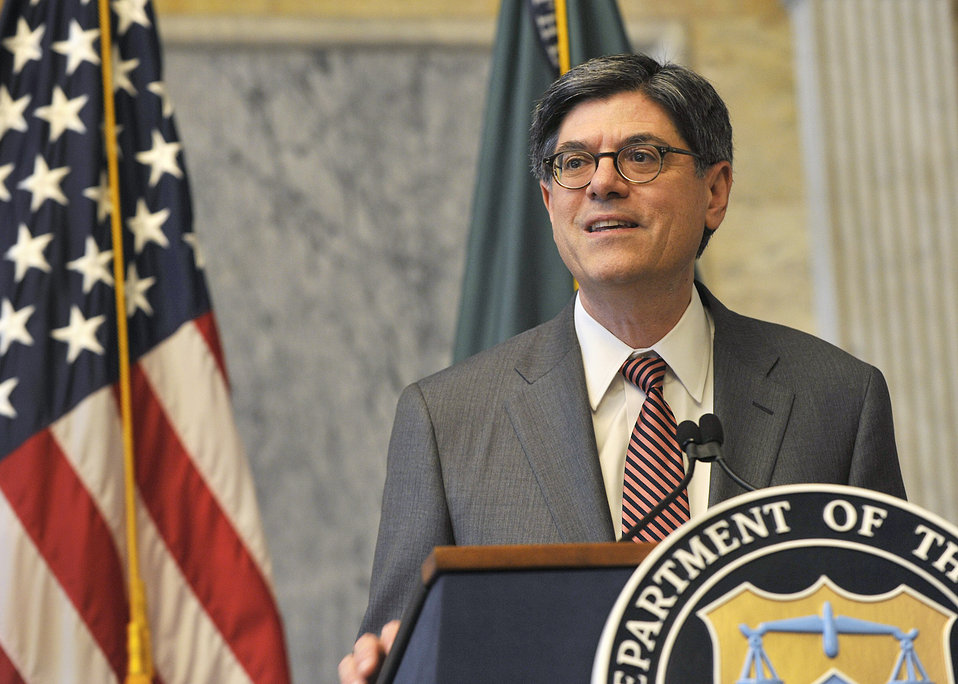 Secretary Lew welcomes Treasury summer interns