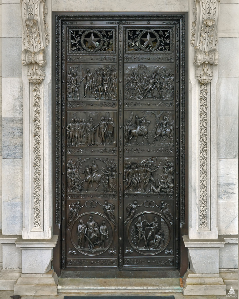 Senate Bronze Doors