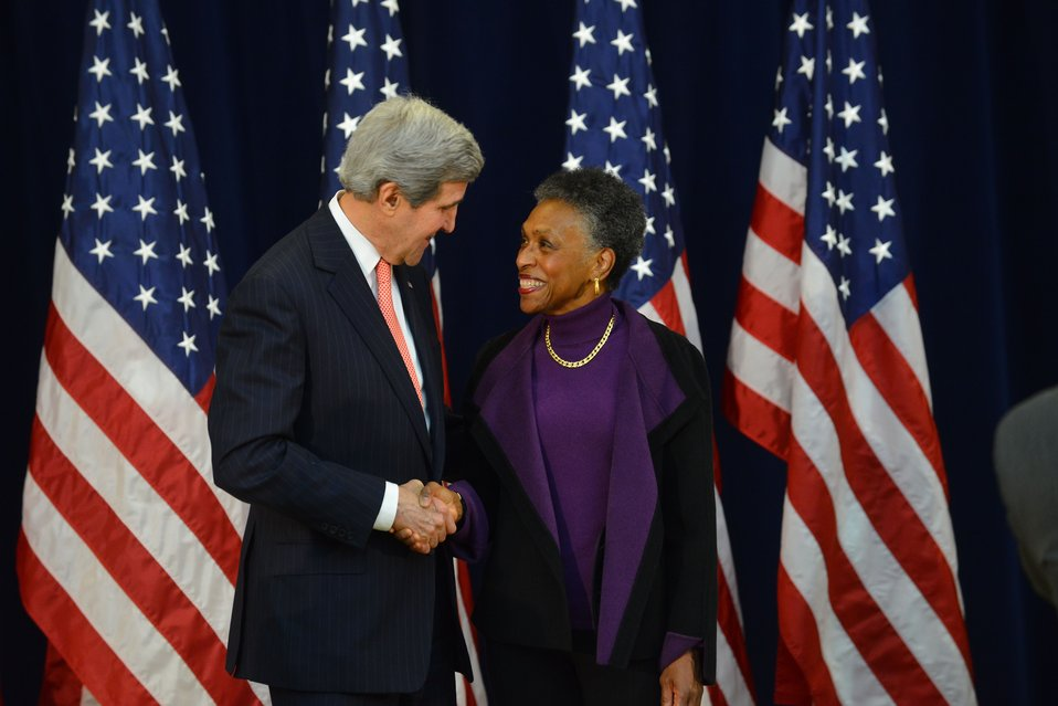 Secretary Kerry Hosts the Annual Department of State Retirement Ceremony