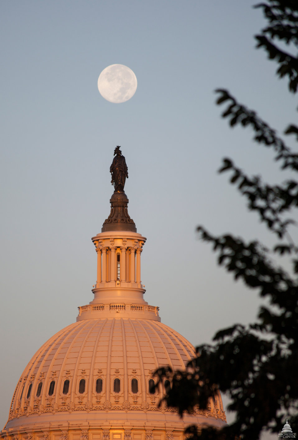 Capitol Dome at Dawn. September 2013