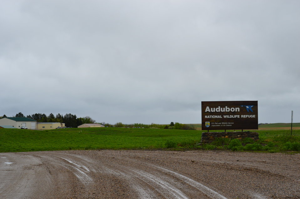 Audubon NWR sign at entrance