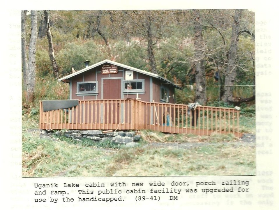 (1989) Uganik Lake Cabin