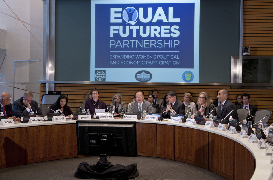 Equal Futures Partnership: From Promise to Progress 2013 Spring Meetings