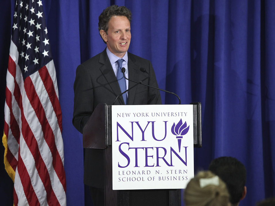 Secretary Geithner Delivers Remarks on Financial Reform at NYU, 8/2/2010