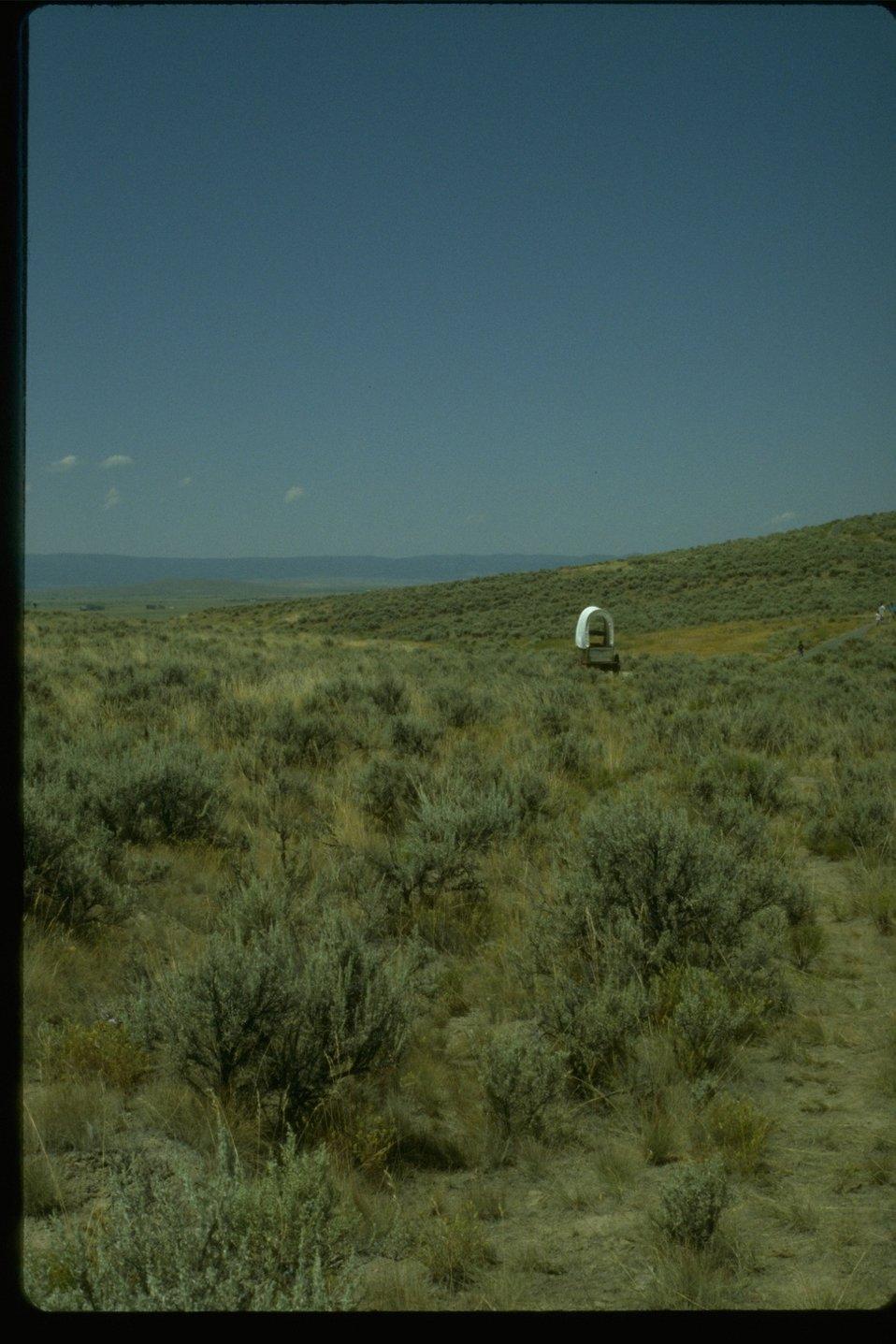 Flagstaff hill ruts near the NHOTIC.