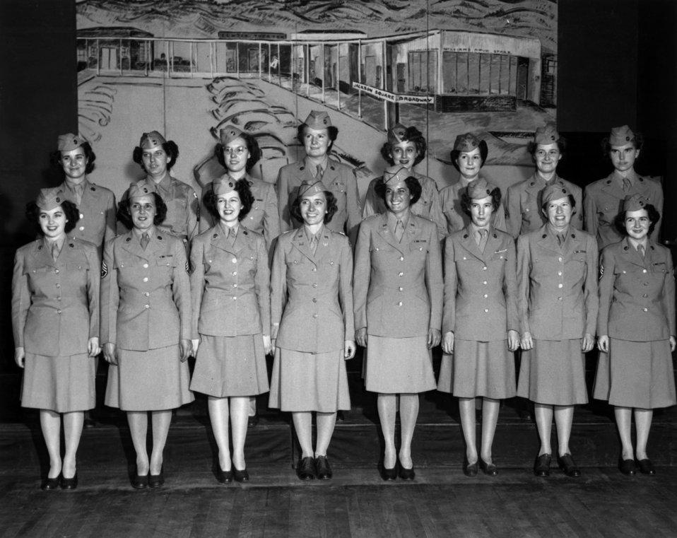 WAC- Women's Army Corps Birthday Party Oak Ridge