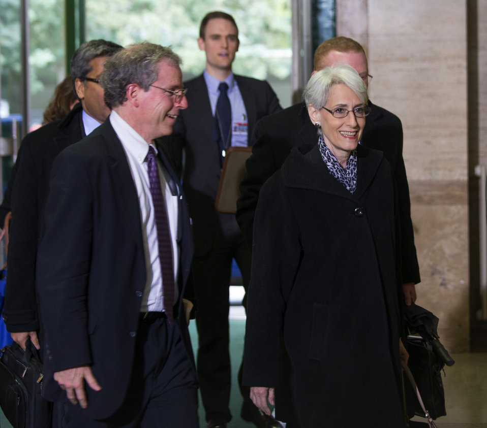 Under Secretary Sherman Arrives at UN for Meeting on Syria