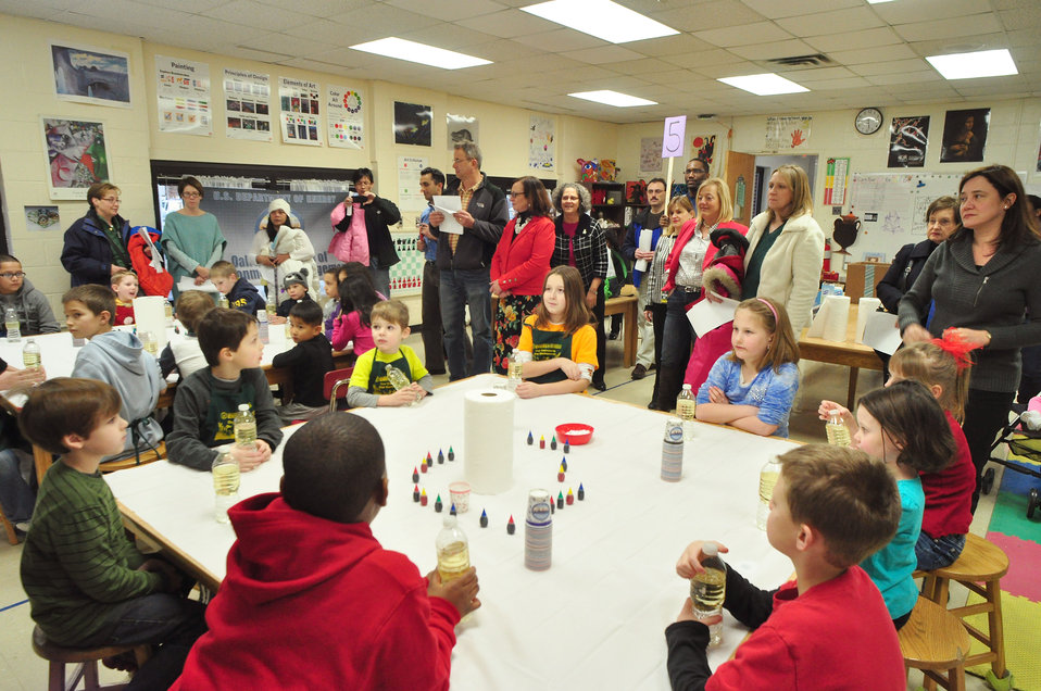 Woodland School STEM Night Oak Ridge 2014