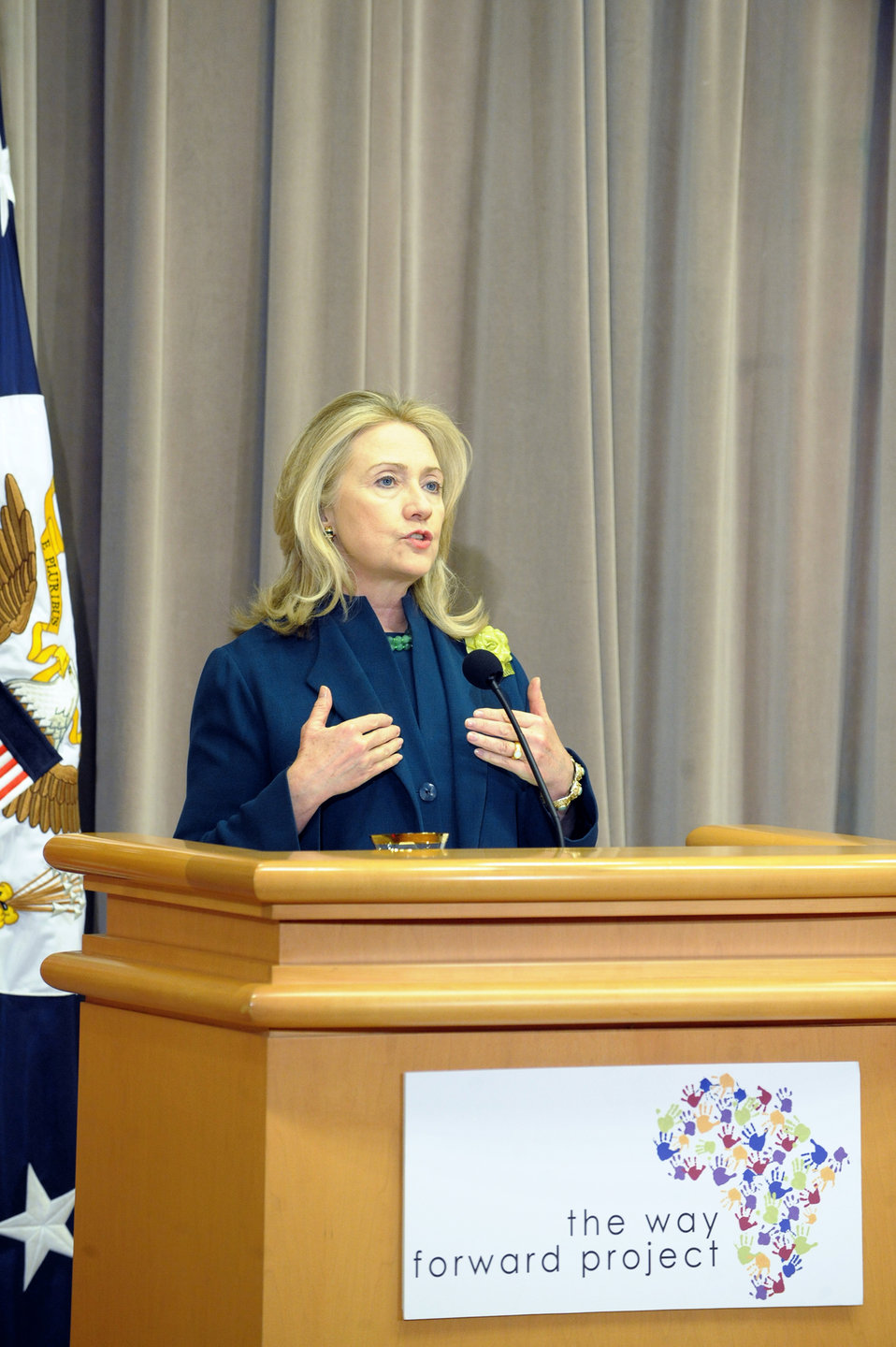 Secretary Clinton Delivers Remarks at Congressional Coalition in Adoption Institute's Africa Way Forward Project Summit