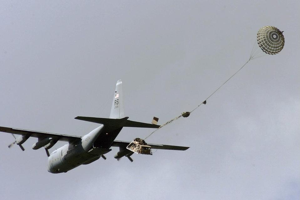 C-130 drop