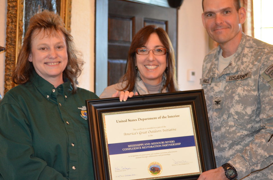 Honoring U.S. Army Corps of Engineers