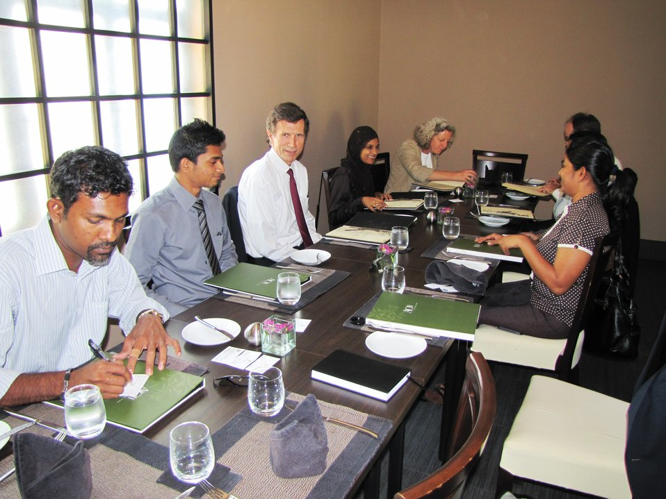 Assistant Secretary Blake Meets With Civil Society Representatives in Maldives