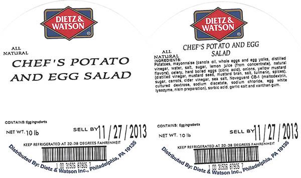 RECALLED – Prepared salads