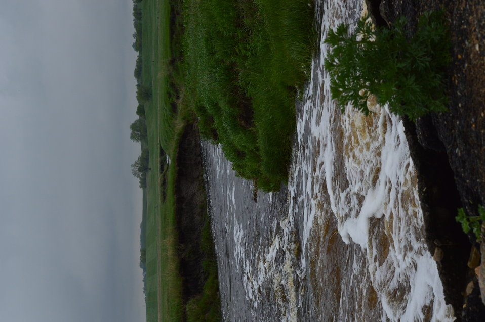 Creek flows through Lost Lake NWR