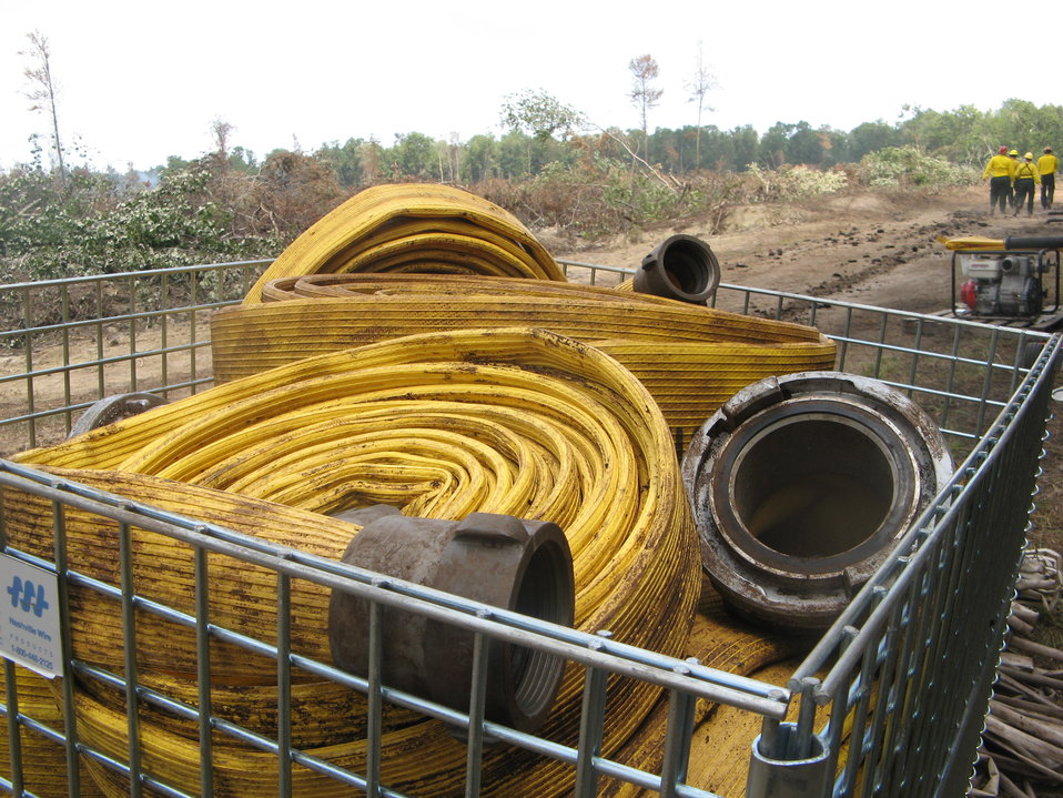 Basket of hose