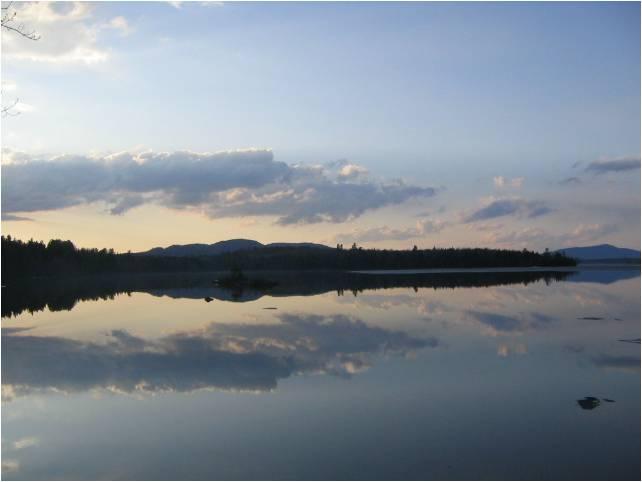 Lake Umbagog - Umbagog National Wildlife Refuge near Errol, ME