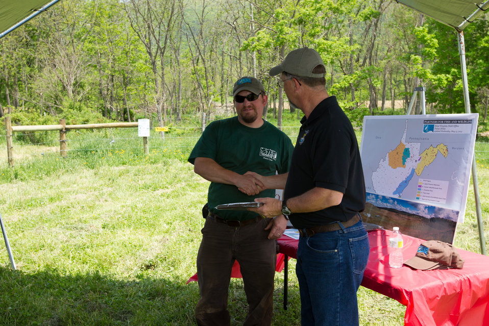 Celebrating 1 Million Feet of Conservation Fence in WV