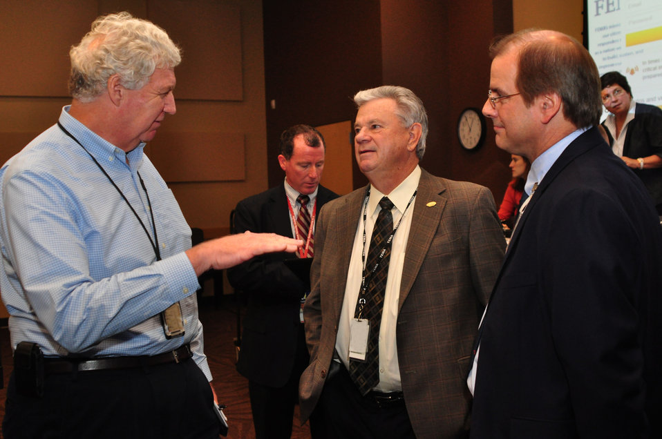 Richard Serino Deputy Administrator, FEMA,Major General(RET) James Bassham, Dir. TEMA, and Johnny Moore DOE ORNL Manager in Oak Ridge 2013