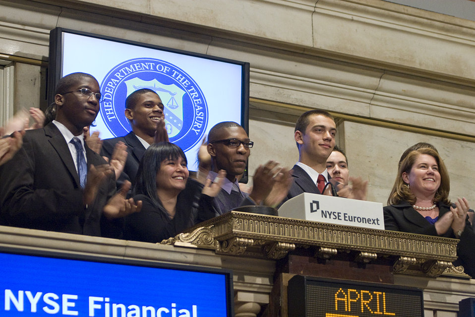 New York Stock Exchange, 4/30/2010