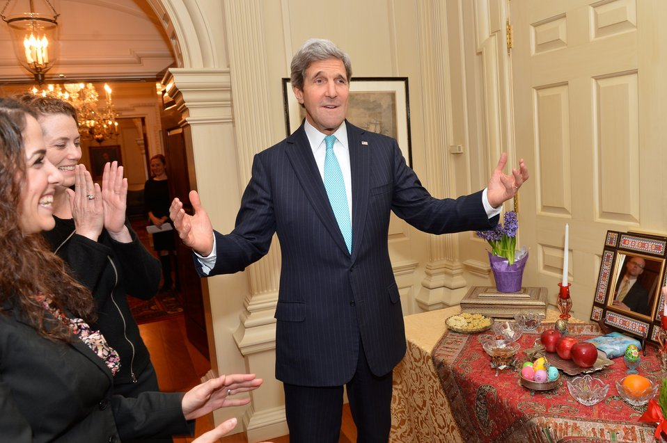 Secretary Kerry Joins Iranian-Americans in Celebrating Nowruz