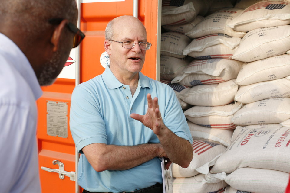 USAID Deputy Administrator Steinberg and Assistant Secretary Carson Review U.S. Food Aid in Djibouti