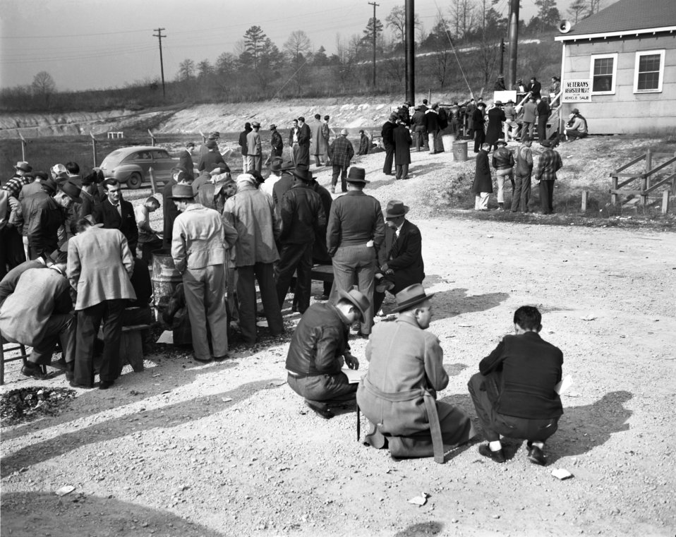 W.A.A. Auto Sale Oak Ridge 1947