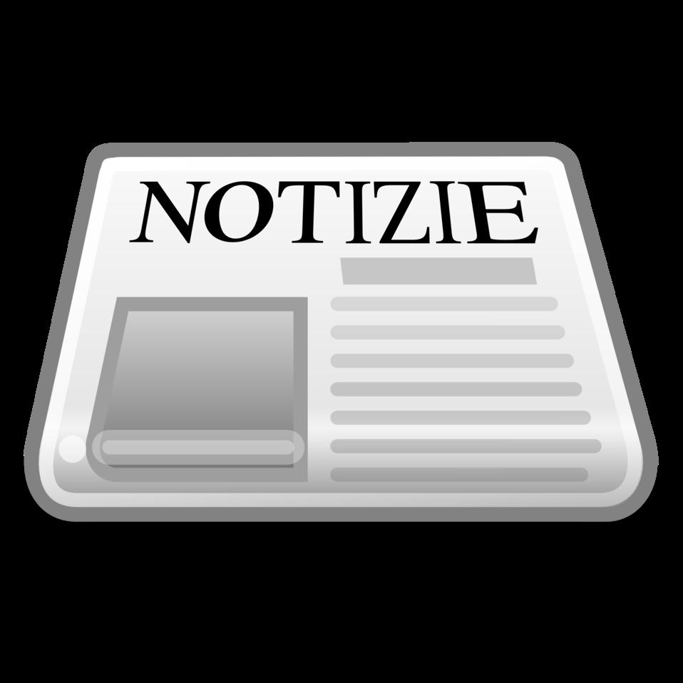 Newspapaer with italian title