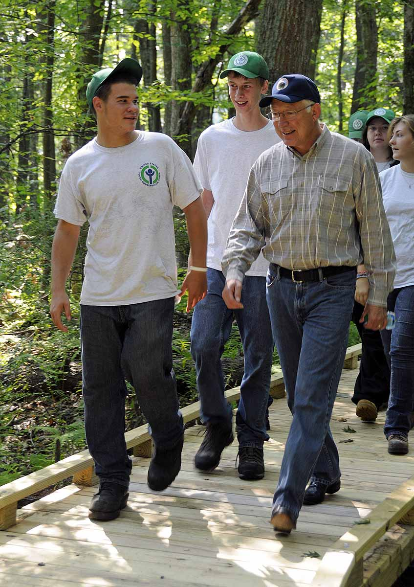 Secretary Salazar visits Great Bay National Wildlife Refuge