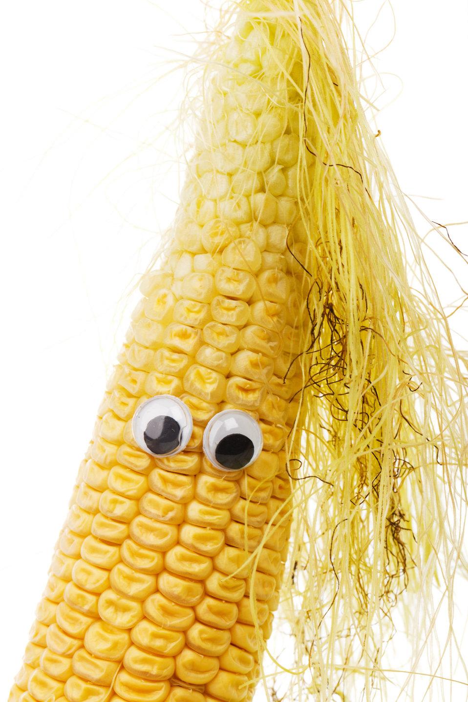 Funny corn face