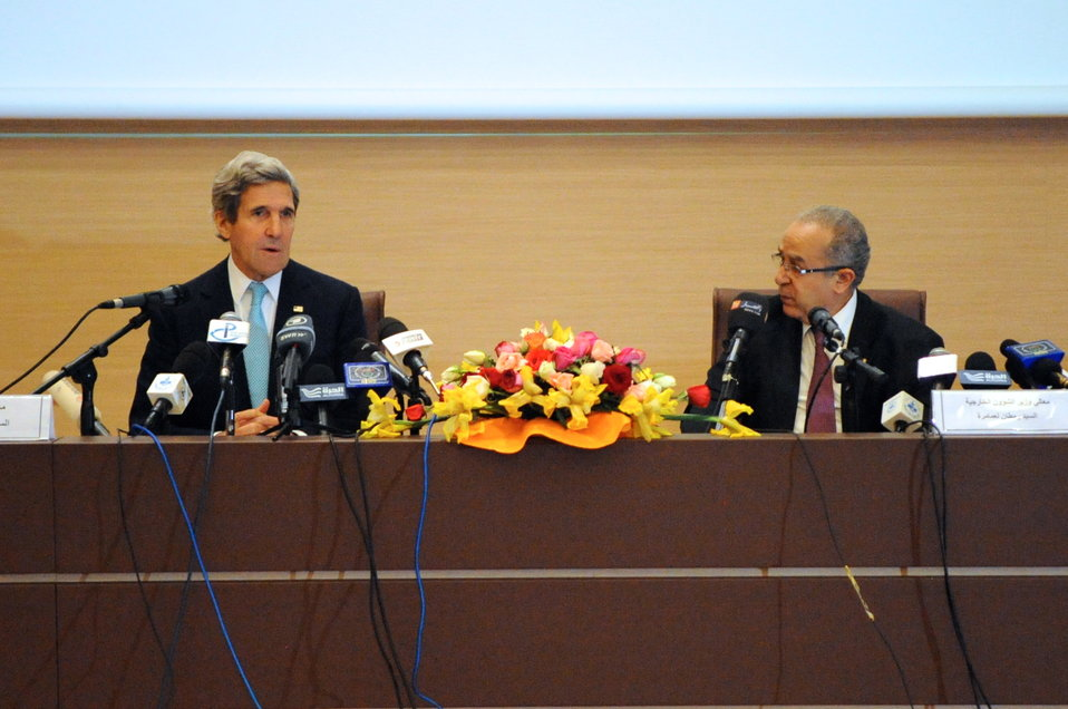 Secretary Kerry and Algerian Foreign Minister Open Strategic Dialogue Between Their Countries