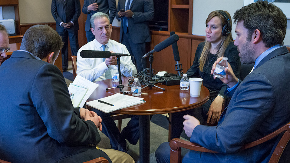 Special Envoy Feingold and Ben Affleck Participate in an Interview with NPR News' McGuffin