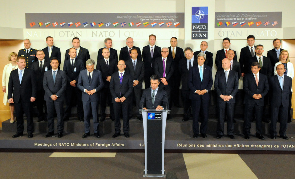 Secretary Kerry, Counterparts Attend NATO Ministerial Meeting in Brussels