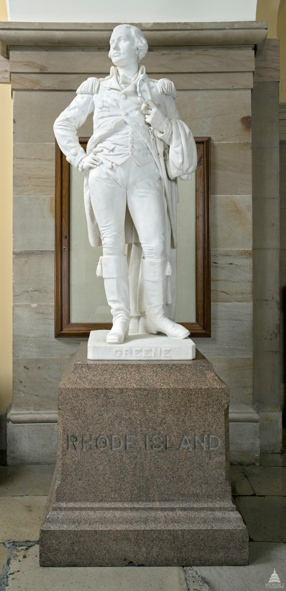 Nathanael Greene Statue