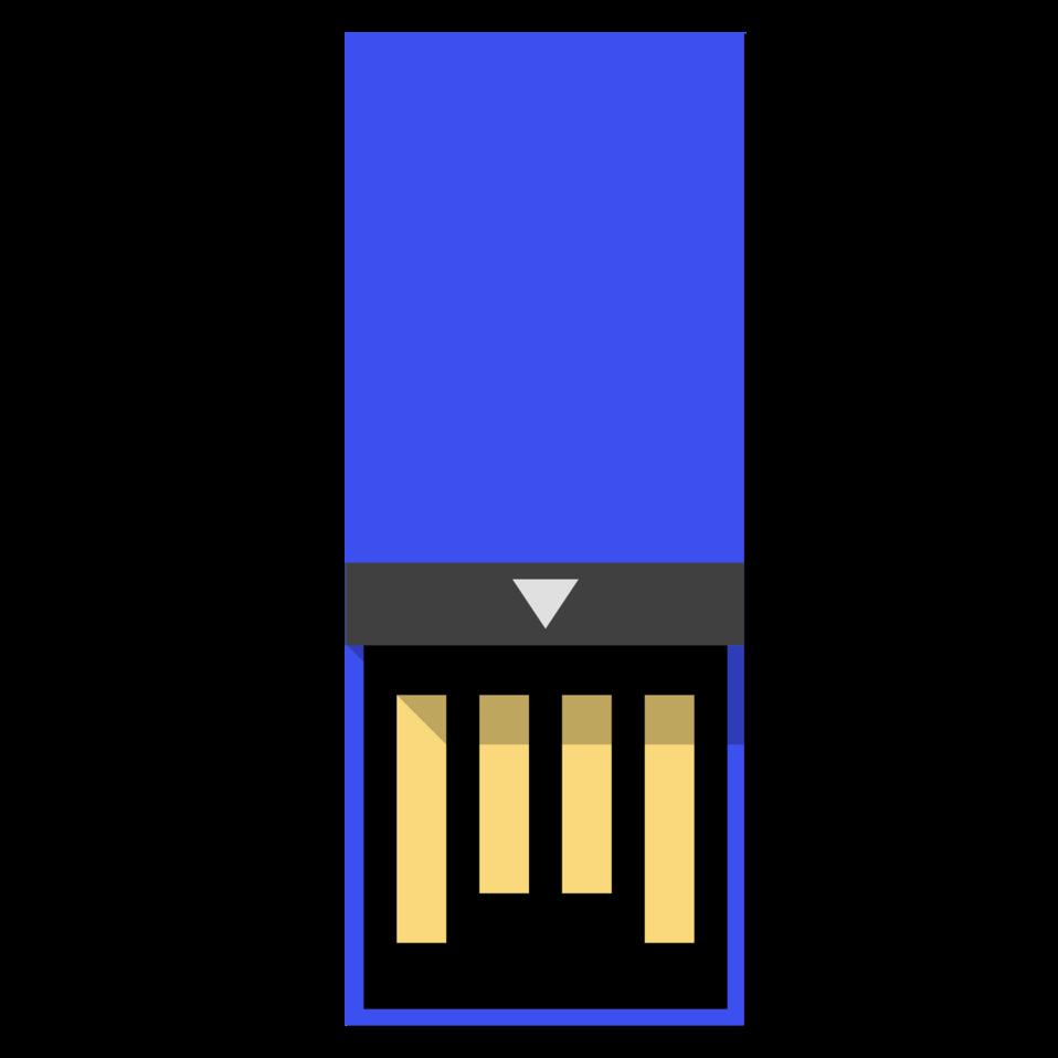 usb clip drive