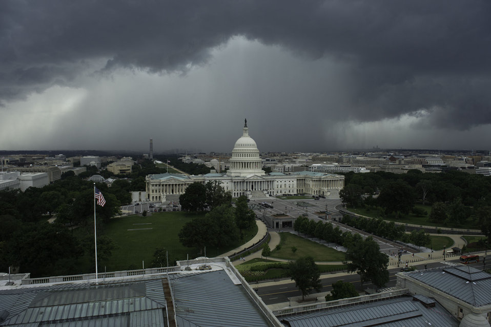 View of Storm from Library of Congress