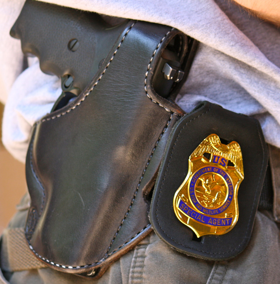 Badge and Sidearm