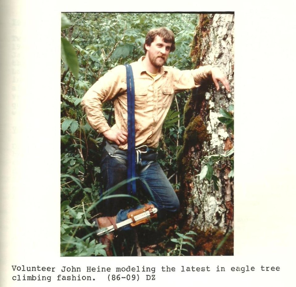 (1986) Fashionable Tree Climbing Gear
