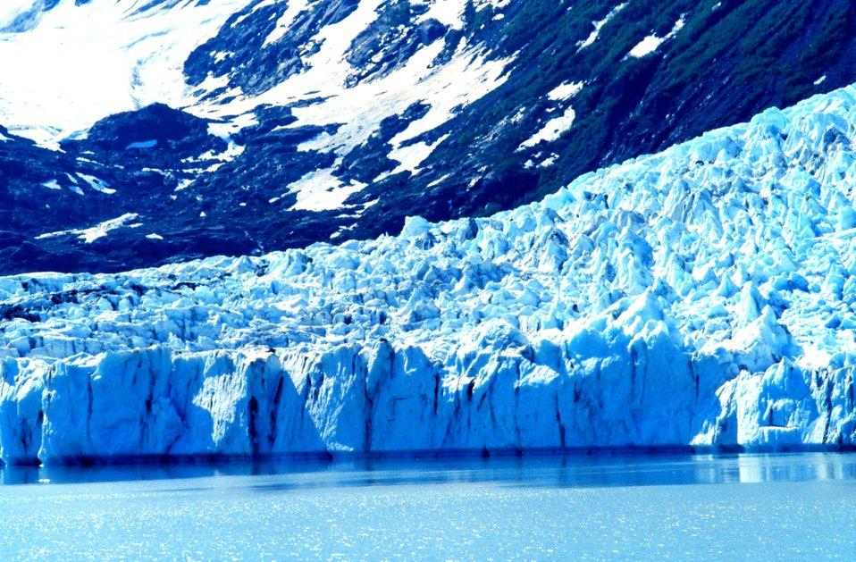Glacier in Kenai Fjords