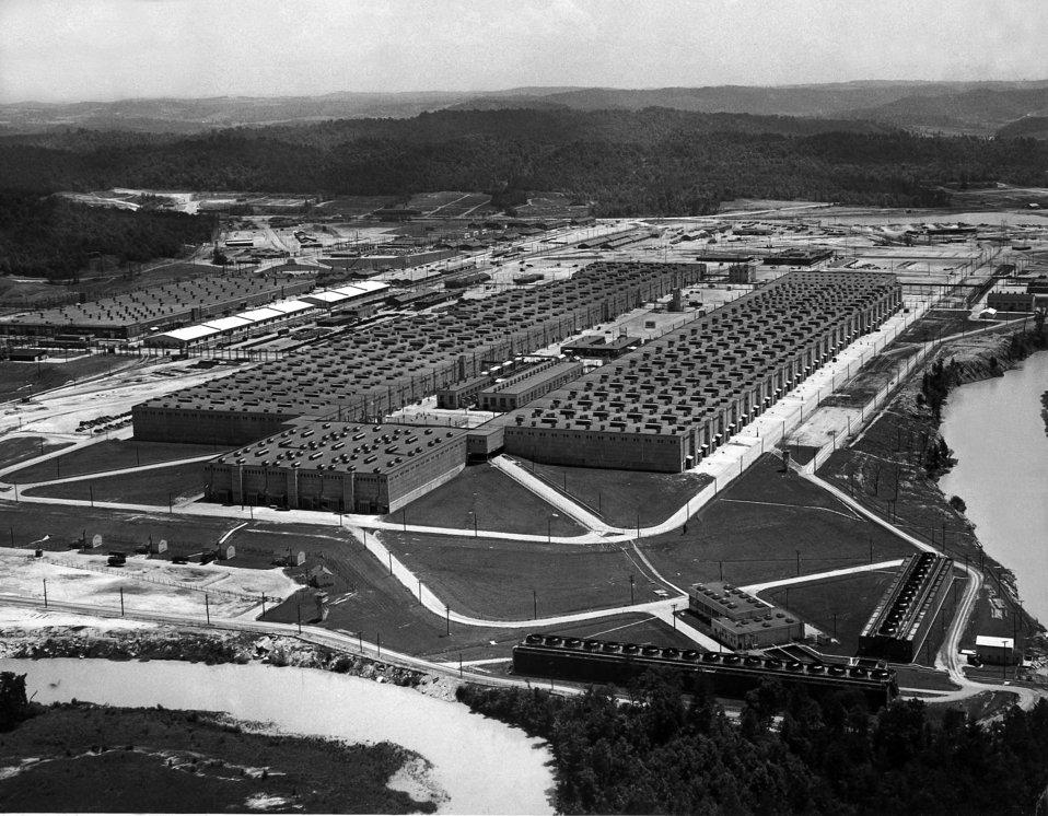 K-25 Air View Oak Ridge