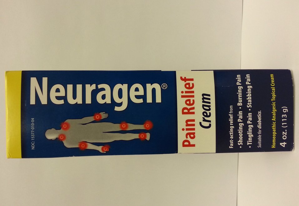 Illegally Sold Diabetes Treatments - Neuragen Pain Relief Cream