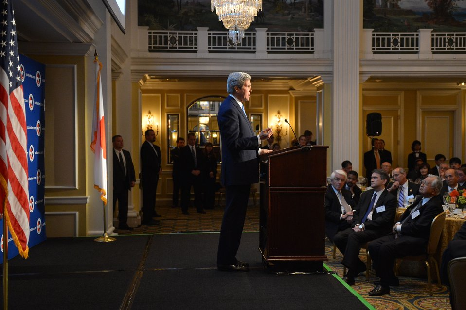 Secretary Kerry Delivers Remarks for the 50th U.S.-Japan Business Conference