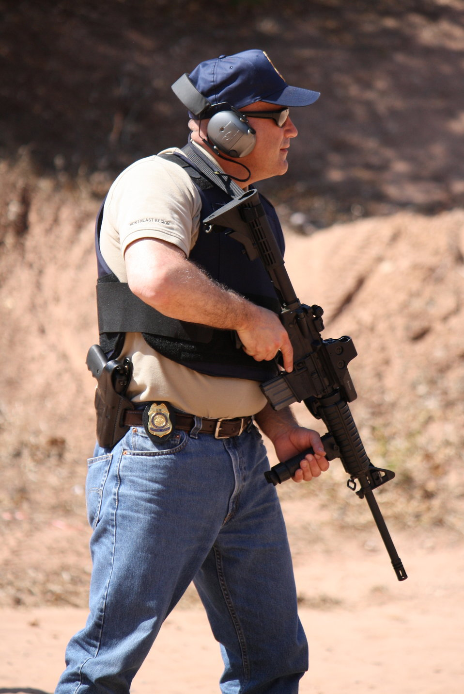 Special Agent in Charge of the Northeast Office of Law Enforcement, Sal Amato