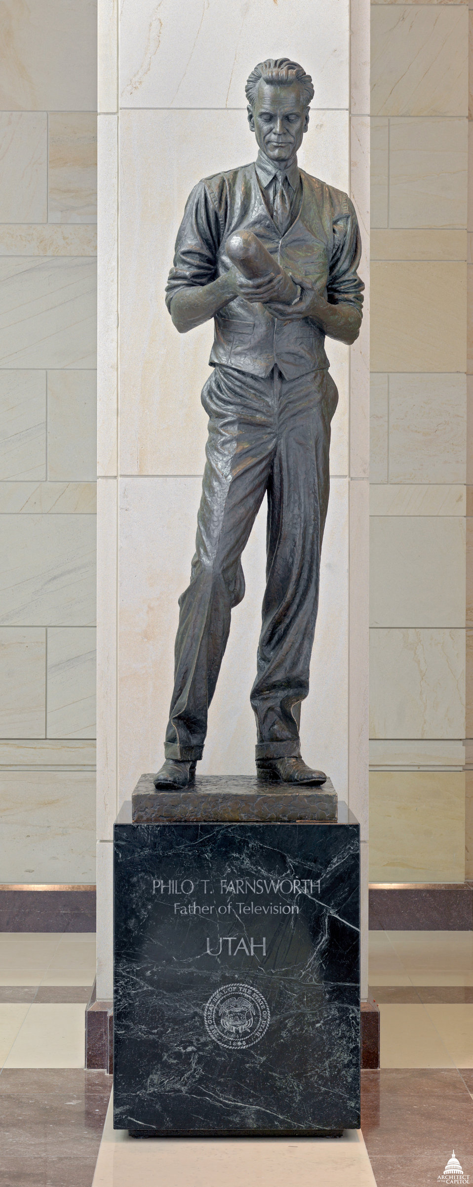 Philo T. Farnsworth Statue